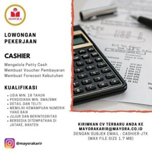 Loker Kasir PT Mayora Indah Tbk