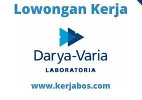 Lowongan Kerja PT Darya-Varia Laboratoria Tbk