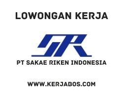 Lowongan kerja PT Sakae Riken Indonesia